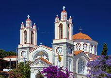 Traditional Orthodox Church, Rhodes, Greece Royalty Free Stock Image