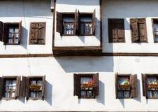 A Traditional Ottoman. House from Safranbolu, Turkey Stock Photos