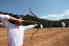 Traditional Ottoman Archery Royalty Free Stock Images