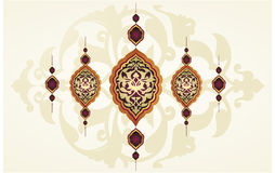 Traditional ottoman clean design Royalty Free Stock Photography