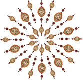 Traditional ottoman clean design Stock Image