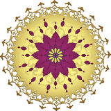 Traditional ottoman clean design Stock Images