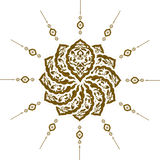 Traditional ottoman clean design Royalty Free Stock Photo