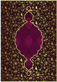 Traditional ottoman gold design Royalty Free Stock Images