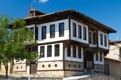 Traditional Ottoman House. From Kastamonu, Turkey Royalty Free Stock Photo
