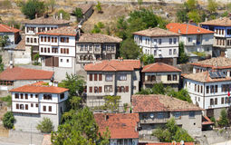 Traditional Ottoman Houses Royalty Free Stock Photos