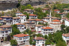 Traditional Ottoman Houses Stock Photo