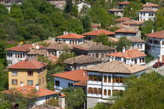 Traditional Ottoman Houses Royalty Free Stock Image