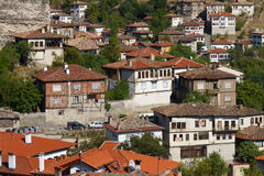 Traditional Ottoman Houses Royalty Free Stock Photography