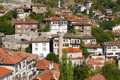 Traditional Ottoman Houses. From Safranbolu, Turkey Royalty Free Stock Photos