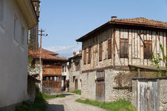 Traditional Ottoman Houses in Safranbolu Stock Photography