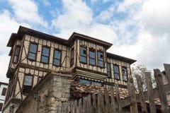 Traditional Ottoman Houses in Safranbolu. Traditional ottoman houses from Safranbolu, Turkey Royalty Free Stock Photos
