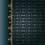 Traditional ottoman seamless pattern Royalty Free Stock Images