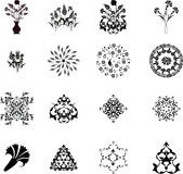 Traditional Ottoman Turkish Design Elements Royalty Free Stock Images