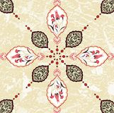 Traditional ottoman turkish seamless design Royalty Free Stock Image