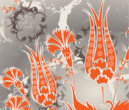 Traditional ottoman turkish seamless design royalty free illustration