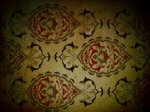Traditional ottoman turkish seamless tile design Royalty Free Stock Photos