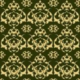 Traditional ottoman turkish tile illustration Royalty Free Stock Photography