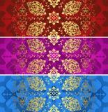 Traditional ottoman turkish tile illustration Stock Image
