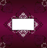 Traditional ottoman turkish tile illustration Royalty Free Stock Images