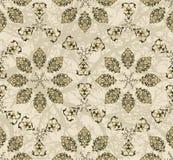 Traditional ottoman turkish tile illustration Stock Images