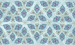 Traditional ottoman turkish tile illustration Stock Photo