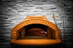 A traditional oven for baking pizza Royalty Free Stock Photography