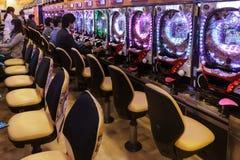 Traditional Pachiko gambling Royalty Free Stock Photos