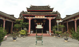 Traditional pagoda in the street of Hoi An Stock Photography
