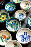 Traditional painted ceramic Royalty Free Stock Photos