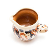 Traditional painted mug Royalty Free Stock Images