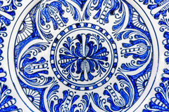 Traditional painted pottery Royalty Free Stock Image