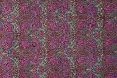 Traditional paisley pattern cashmere pashmina sample Royalty Free Stock Image