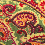 Traditional paisley pattern silk background Royalty Free Stock Photo