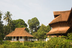 Traditional palace. Traditional Puthan Palace, Kerala, India Stock Images