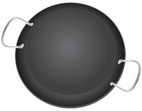 Traditional pan for Paella Royalty Free Stock Photo