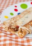 Traditional pancake Royalty Free Stock Image