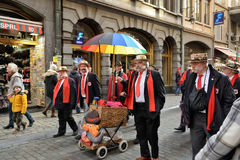 Traditional Parade of Saint Nicolas in Brussels Royalty Free Stock Photo
