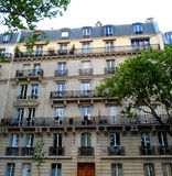 Traditional Parisian architecture Stock Photography