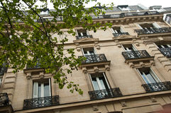 Traditional Parisian building Royalty Free Stock Images