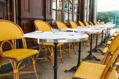 Traditional Parisian coffee Royalty Free Stock Photos