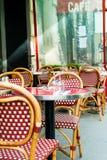 Traditional Parisian coffee Stock Photo