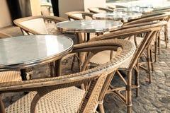 Traditional Parisian coffee Stock Photos