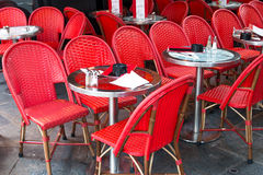 Traditional Parisian coffee Royalty Free Stock Photography
