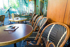 Traditional Parisian coffee Royalty Free Stock Image