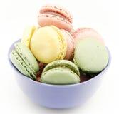 Traditional Parisian macarons Royalty Free Stock Photo