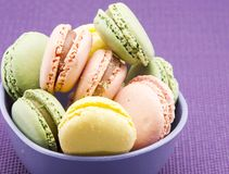 Traditional Parisian macarons Royalty Free Stock Photography