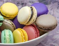 Traditional Parisian macarons Stock Photo