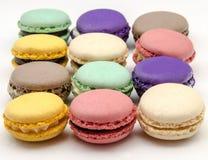 Traditional Parisian macarons Stock Images