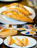 Traditional pasty kibin Royalty Free Stock Photography